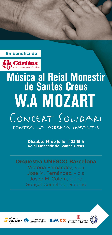 concert solidari Santes Creus